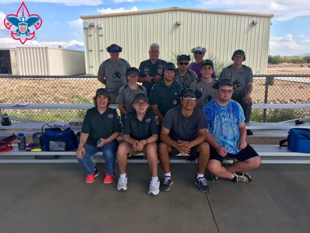BSA Baden-Powell team