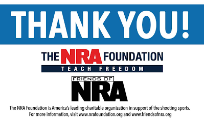 Thank you NRA